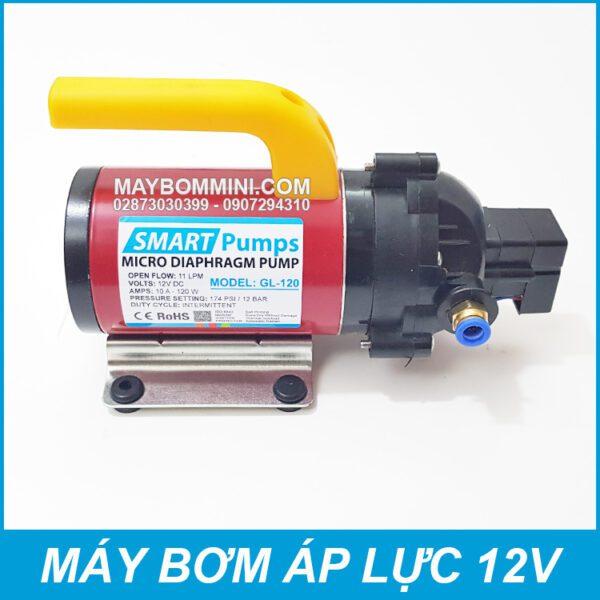 Ban May Bom Ap Luc Mini 12V 120W Smartpumps GL 120