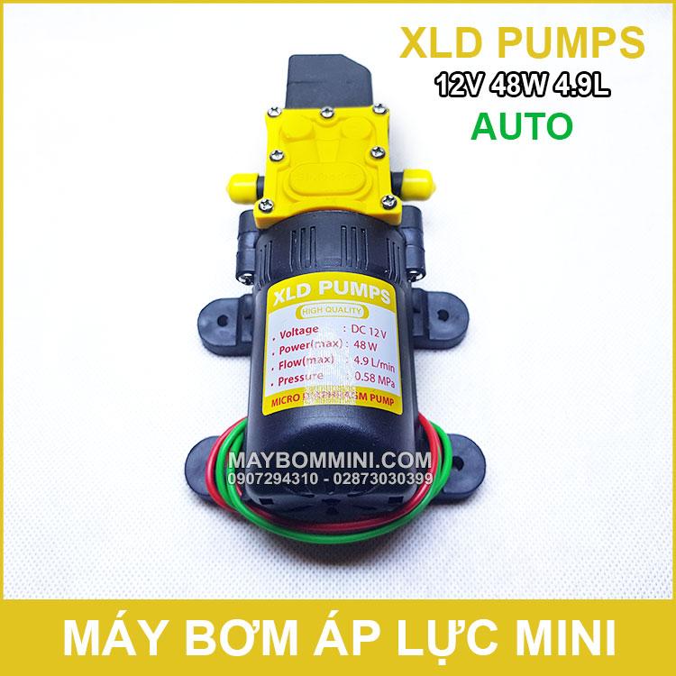 Bom Nuoc Ap Luc Mini 12v 48w XLD