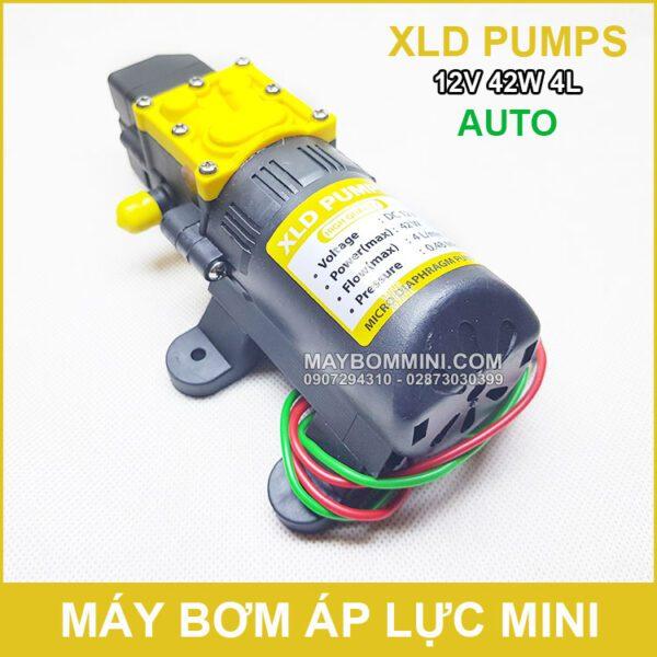 Bom Nuoc Mini 12V 42W 4L XLD Auto