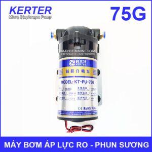 May Bom Ap Luc 24V Phun Suong RO 75G