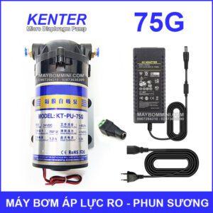 May Bom Ap Luc 24V Phun Suong RO 75G Kem Nguon