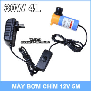 Bo May Bom Nuoc Mini 30W 4L
