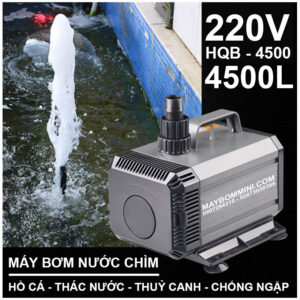 May Bom Nuoc Ngap Gia Dinh 220V HQB 4500