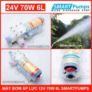 May Bom Ap Luc 24v 70w Smartpumps 2018