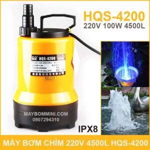 May Bom Chim Thac Nuoc 220V 4500L HQS 4200