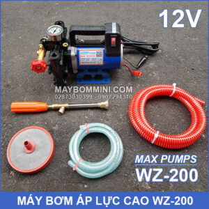 Tron Bo May Bom Ap Luc 12v 200W Maxpumps