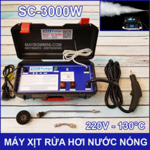 May Phun Xit Rua Hoi Nuoc Nong 220V 3000W SC 3000W Maxpumps