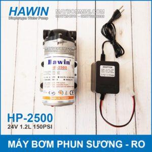 May Bom Phun Suong 24V Hawin HP 2500