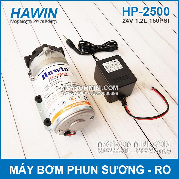 Phan Phoi May Bom 24V HAWIN HP 2500
