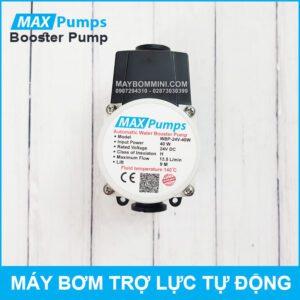 Bom Nuoc Tro Luc Tu Dong 24V 40W 13L