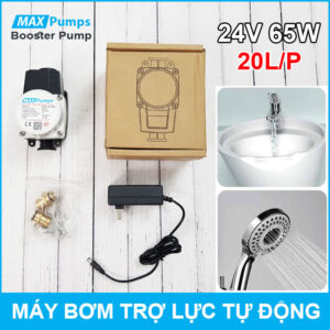 May Bom Tro Luc Nuoc Gia Dinh 24V 65W