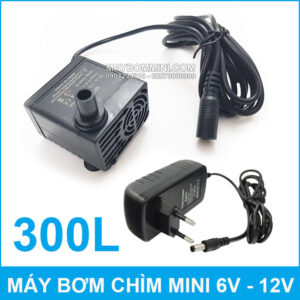 May Bom Chim Mini DC 808 Kem Nguon