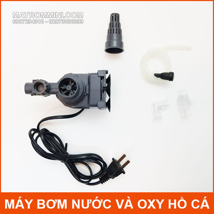 Bom Oxy Va Loc Nuoc Ho Be Ca Sunsun HJ 721