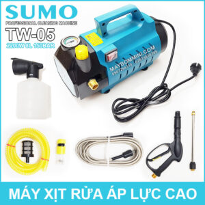 May Rua Xe Ap Luc Cao Co Chinh Ap 220V 2200W Sumo TW05