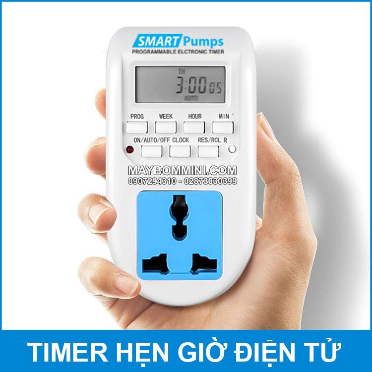 O Cam Dien Thong Minh Hen Gio Tat Mo AL06 Smartpumps